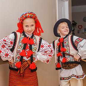 Концерт-привітання, присвячений дню визволення Києва